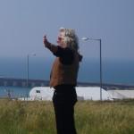 Mike Reynolds Surveys The Lizard Earthship Homes Site, Brighton Marina