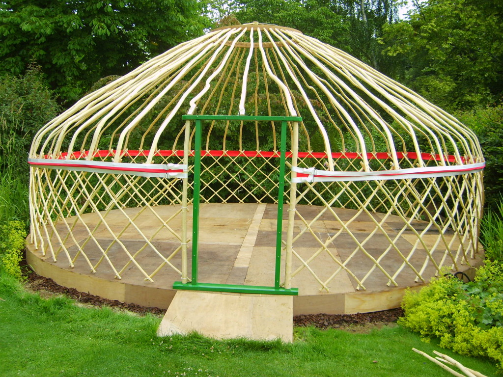 Yurt Building in Brighton